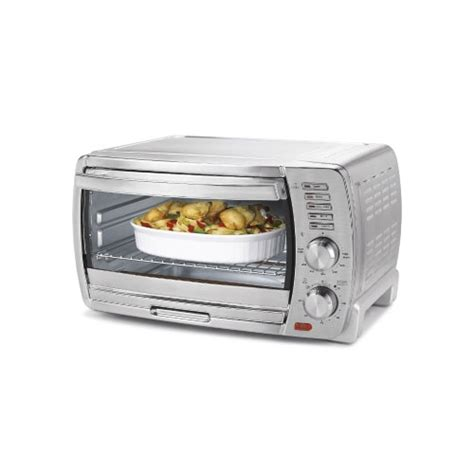 Oster Large Countertop Oven by Oster Tssttvskbt Large Convection Toaster Oven Chrome Ebay
