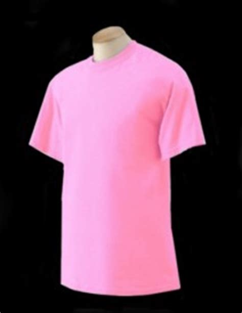 safety pink color fluorescent neon safety t shirts by gildan