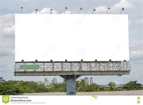 billboard template blank billboard template stock image image of highway