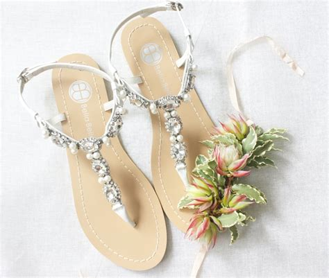 pearl sandals australia 19 pairs of wedding flats to keep you comfy and beautiful
