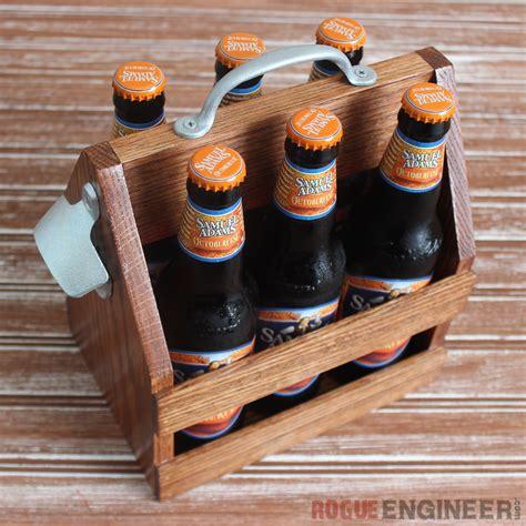 beer tote   decorate  crate home diy  cut