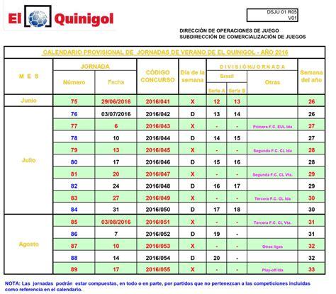 Calendario De Verano Calendario Provisional De Jornadas De Verano De El