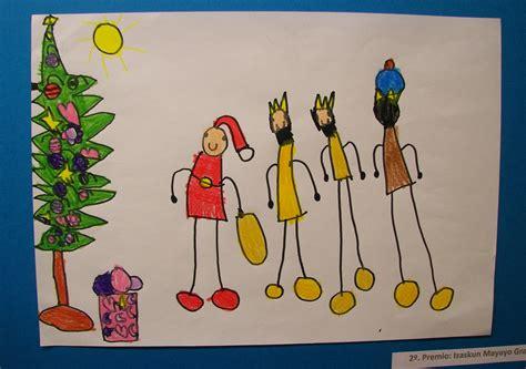 imagenes de navidad para niños concurso de dibujos de navidad 2011 biblioteca de alag 243 n