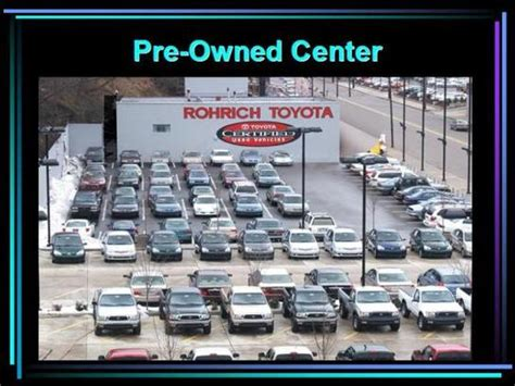 Rohrich Toyota Rohrich Toyota Pittsburgh Pa 15226 Car Dealership And