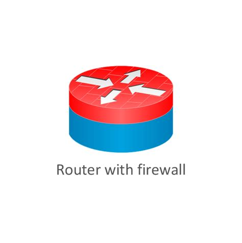 Router Firewall cisco routers cisco icons shapes stencils and symbols design elements cisco routers