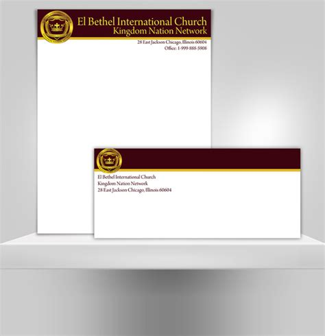 6 Sle Church Letterheads Sle Templates Church Stationery Templates