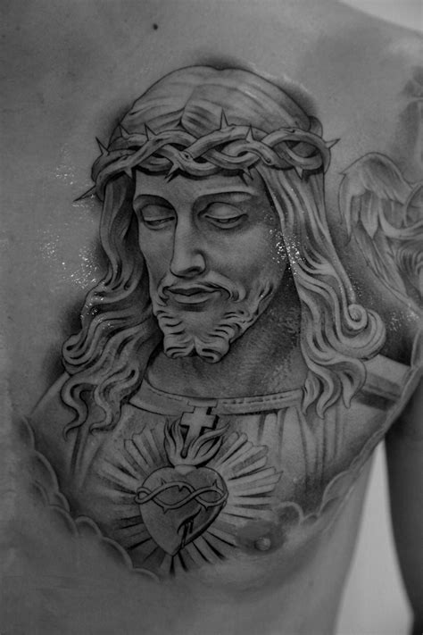 jesus chest tattoos jesus tattoos designs ideas and meaning tattoos for you