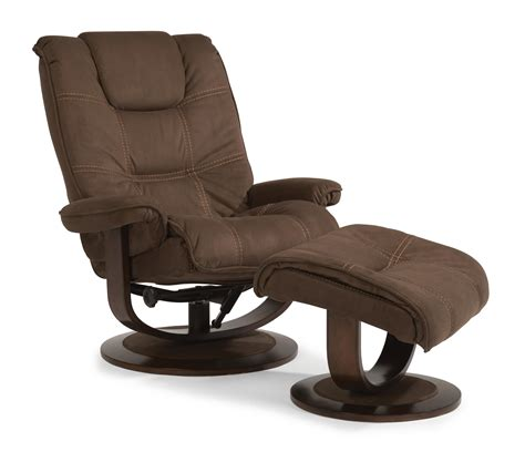 Flexsteel Latitudes Spencer Spencer Modern Zero Gravity Flexsteel Chair And Ottoman