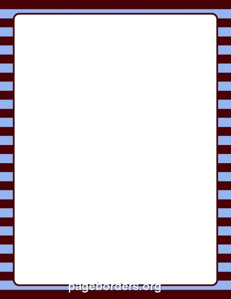 printable blue striped border use the border in printable brown and blue striped border use the border in microsoft word or other programs for