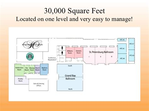 event space presentation software presenting a floor level hilton st petersburg bayfront catering presentation