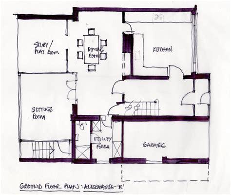 sketch floor plans hr sketch plan 2 doug fowler architect