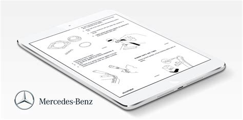 mercedes benz repair service manual choose your vehicle instant download