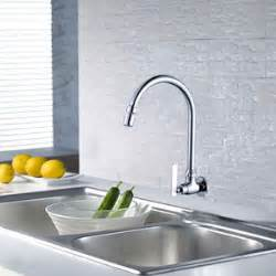 wall mounted kitchen faucets wall mount kitchen faucet