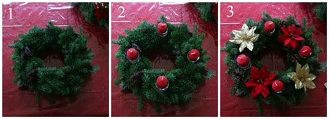 Handmade Advent Wreath - how to make a quot gourmet quot wreath simple