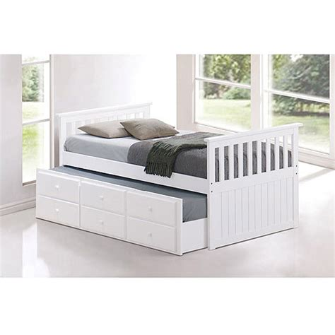 twin trundle bed with drawers broyhill kids marco island twin captain s bed with trundle