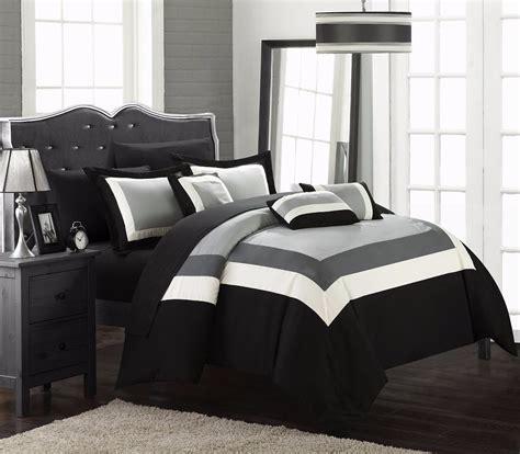 edredones usados queen edredon para cama queen chic home duke 10 pzas negro