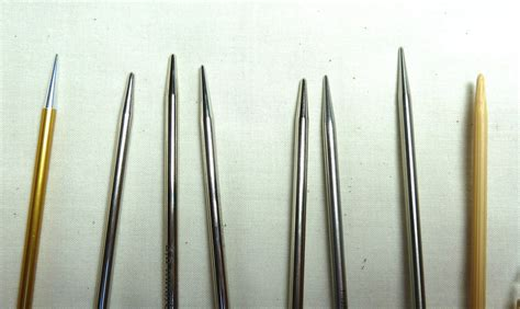 knitting needle circular knitting needle comparison