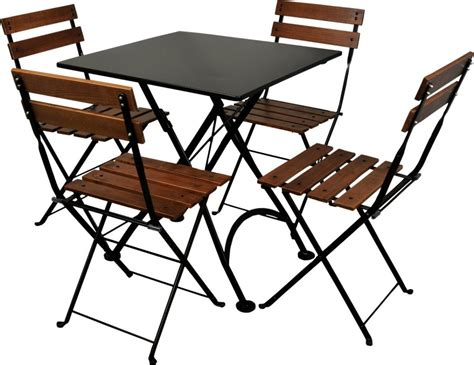 furniture design house furniture designhouse 28 quot square folding bistro table