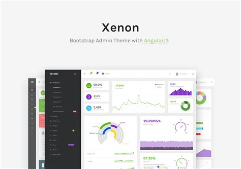 themeforest xenon admin xenon bootstrap admin theme with angularjs by laborator