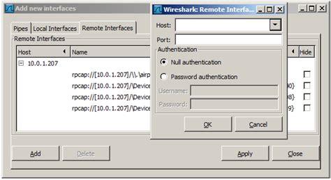 Wireshark Tutorial Remote Interface | wireshark user s guide