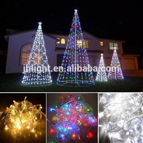 christmas decorations led tree from love actully new 10m 100 led string light outdoor garden l garland cone tree decoration