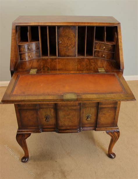 antique ladies writing desk antique walnut ladies writing desk bureau antiques atlas