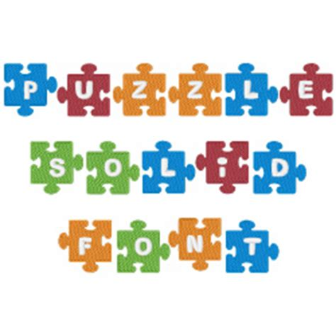 design of font crossword clue puzzle piece solid font by concord collections home format