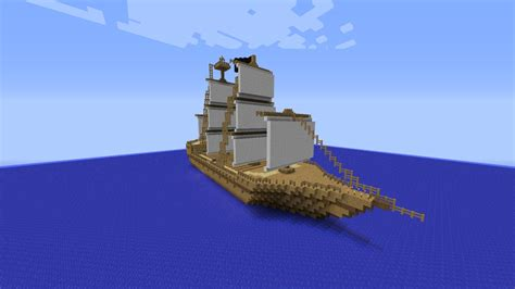 minecraft boat polish wooden pirate ship minecraft project