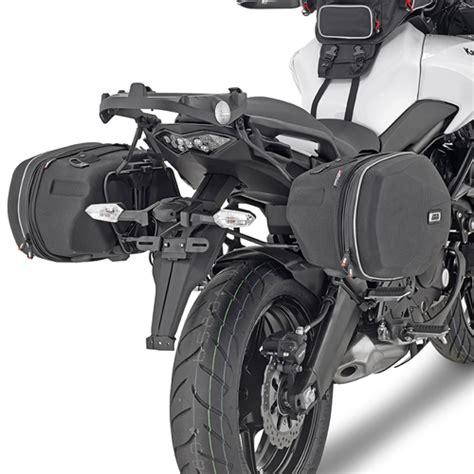bmw gs 650 yamaha tdm 900 soporte de alforjas laterales givi te4114 para moto