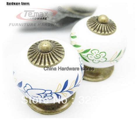 Dresser Knobs Ceramic Bronze Kitchen Cabinet Cupboard Door Dresser