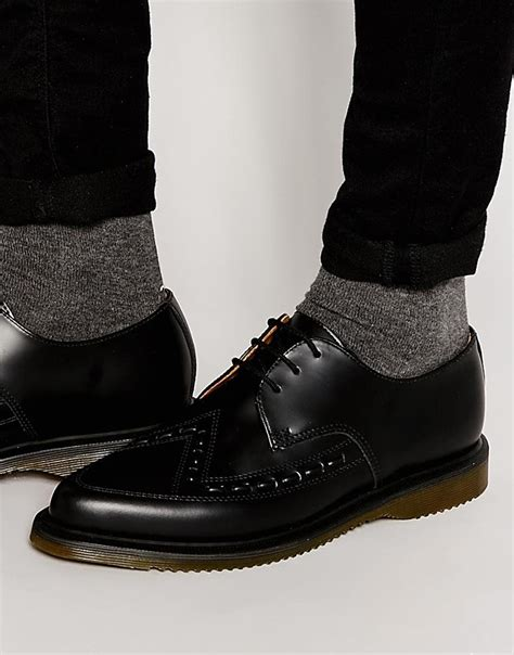 mens boots to wear with vogue vintage patterns dr martens black ally lace up