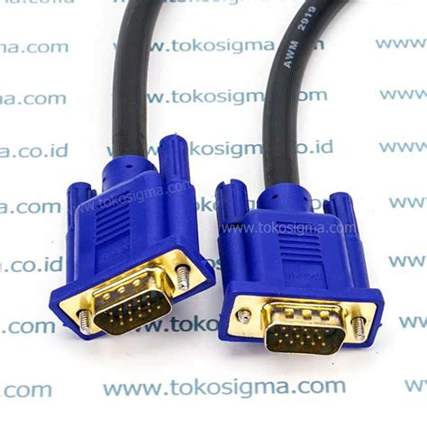 Kabel Vga Db15 Rgb Pin 15 To High Quality kabel vga 2m howell m m toko sigma