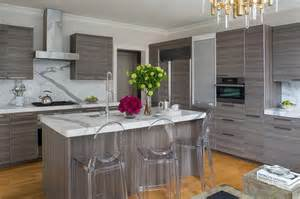 grey modern kitchen cabinets statuary marble countertops design decor photos