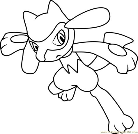 pokemon coloring pages pachirisu smiling pokemon coloring pages for kids printable free
