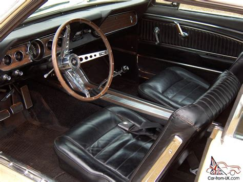 Mustang 66 Interior by 1966 Ford Mustang 289 V8 A C Pony Interior 4 Speed 66