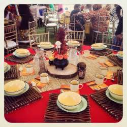afrikanische dekoration traditional wedding centerpieces and decor www