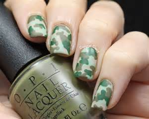copycat claws camo nail art amp opi did you ear about van gogh