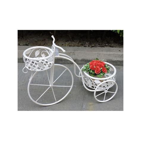 porta vasi portavasi a bicicletta cestino 65cm porta vasi fiori