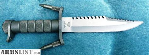 buck 184 survival knife for sale armslist for sale buckmaster model 184 survival knife nib