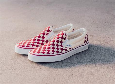 Harga Retail Vans Slip On Checkerboard vans slip on checkerboard pack sneaker bar detroit