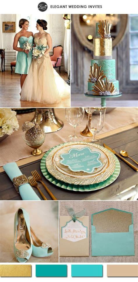 ruby wedding inspiration mint green teal and gold wedding 50 trendiest gold wedding ideas elegant glam