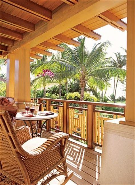 lanai tropical porch hawaii  ike kligerman barkley