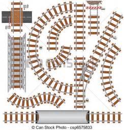 vecteurs de chemin fer 233 l 233 ments chemin fer isol 233