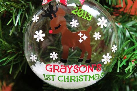 baby s first christmas ornament personalized 2014 our