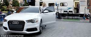 audi commercial actress elf claire danes stars in new absurd commercial for audi