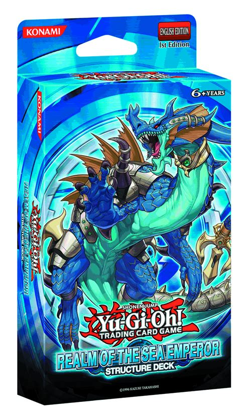 structure decks previewsworld yu gi oh tcg structure deck realm sea