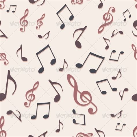 vector pattern with music notes color music notes wallpaper 187 tinkytyler org stock