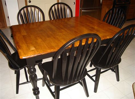 Kitchen Table Refinishing Ideas | better together refinishing a kitchen table part 2