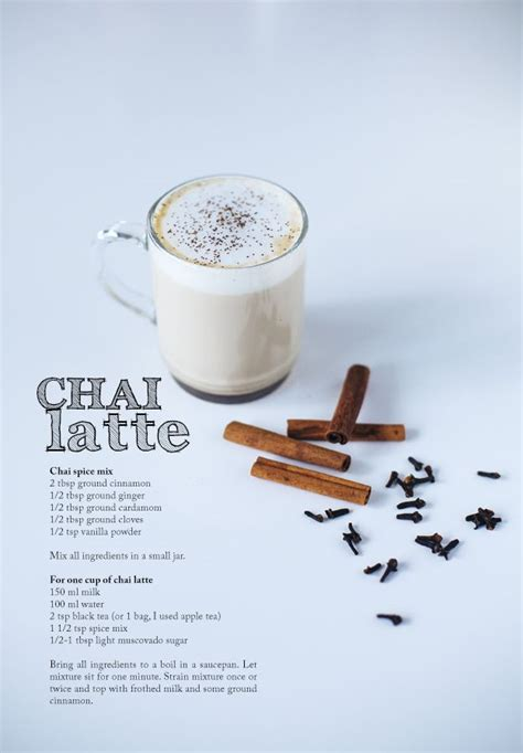 www chaise chai latte coffee tea pinterest