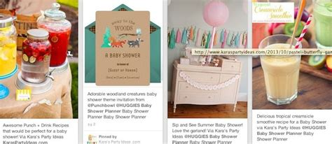 Huggies Baby Shower Planner by Kara S Ideas Huggies Baby Shower Planner Inspiration